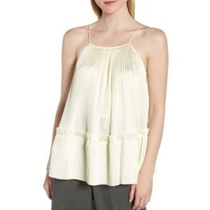 Lewit NWT Pleated Swing Tank